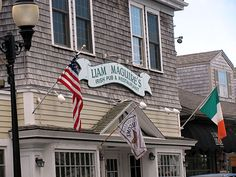 Liam Maguire's Irish Pub & Restaurant, Live Irish Music, Great Food, Large Well-stocked Bar and a great time to be had by all!   Main Street, Falmouth, Cape Cod.   Photo by Renee Rutana