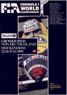 1988 GP-Deutschland-Hockenheim) Grands Prix Germany • STATS F1