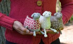 Ravelry: Sheep! pattern by Susan B. Anderson I looked for hours for a pattern like this a few months ago. I came to the conclusion I would have to design my own...now I don't have to! thank you S.B.A!