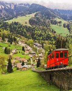 """Swiss Alps, above Montreux - Switzerland  @Switzerland.Vacations for more amazing travel photos ! #SennaRelax"""