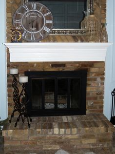 Oak fireplace mantel plans