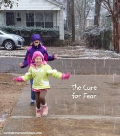 Comfort in the Midst of Chaos: The Cure for Fear