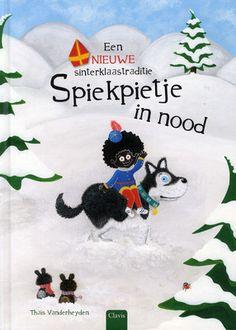 Onderweg naar de kinderen die hij zal bespieden voor Sinterklaas, verdwaalt #Spiekpietje door een storm in het Hoge Noorden. Gelukkig zorgen de #kerstelfen en de #Kerstman dat hij nog op tijd komt. Groot prentenboek met paginagrote kleurenillustraties. Vanaf ca. 4 jaar.