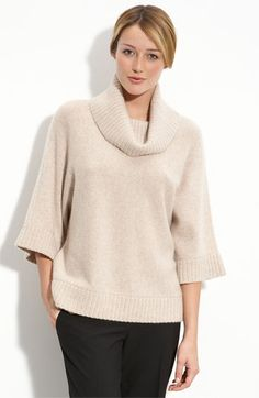 Free shipping and returns on Only Mine Cashmere Cowl Neck Sweater at Nordstrom.com. Premium yarns lend decadent softness to a cashmere sweater designed with a relaxed fit and three-quarter-length dolman sleeves. Ribbed trim fashions the cuffs, hem and softly cowled neck for a cozy finish.