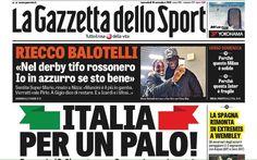Rassegna stampa sportiva 16 novembre 2016 con le prime pagine dei quotidiani sportivi italiani. Gazzetta dello Sport, Corriere dello sport e Tuttosport