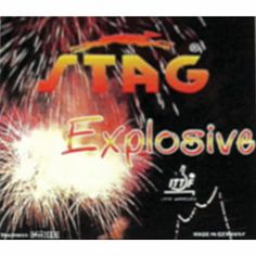 Stag Explosive Table Tennis Rubber