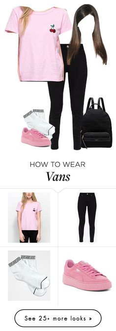 """Bailey Sear - A Teenage Ghost Story"" by dynastiloudhousefan on Polyvore featuring Ted Baker, Vans, Puma and Radley"