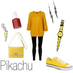 Everyday Cosplay. Pikachu outfit