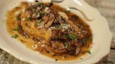 Gnocchi a la Romana with Mushroom Marsala Recipe - There is no better combination than gnocchi in Mario Batali's marsala sauce! The Chew Recipes, Pasta Recipes, Cooking Recipes, Meal Recipes, Chef Recipes, Italian Dishes, Italian Recipes, Italian Foods, Marsala Recipe
