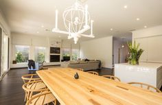 Glen Iris - Beautiful Home Living Spaces, Living Room, Window Dressings, Kitchen Doors, Kitchen Styling, House Tours, Contemporary Design, Beautiful Homes, New Homes