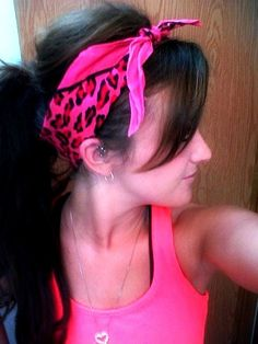 Love the Bandana :-)