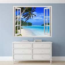 Resultado de imagen de fotomurales de falsas ventanas