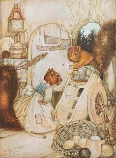 "Gustaf Tenggren from ""Stories From a Magic World"""
