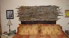 Stick furniture I've made  Headboard