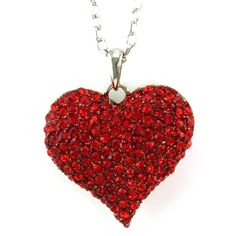 Big Love Red Heart Valentine's Day Pendant Necklace Charm Rhinestones Ladies Women Fashion Jewelry Soulbreezecollection http://www.amazon.com/dp/B007Z9CHG4/ref=cm_sw_r_pi_dp_ff8vub0E5NA51