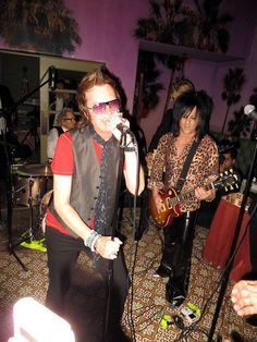 Glenn Hughes @glenn_hughes while performing @ the Wedding of Matt Sorum the other night in Palm Springs, CA., USA.