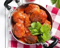 Boulettes de viande à la sauce au ketchup 20 Min, Sauce, Ketchup, Tandoori Chicken, Ethnic Recipes, Balls, Food, Tomato Paste, Cooking Recipes
