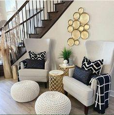 Living Room Decor Cozy, Home Living Room, Living Room Designs, Bedroom Decor, Home Interior Design, Interior Decorating, Apartments Decorating, Decorating Bedrooms, Decorating Ideas