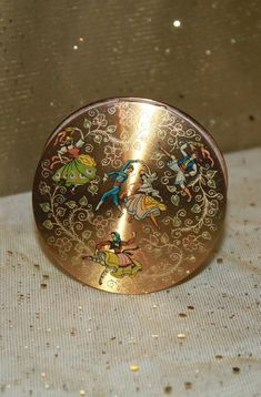 Powder Compact Mirror Christmas Gift Idea for Her. Strictly Come Dancing, Solid Perfume, Dance Poses, Compact Mirror, Esty, Ballerina, Mirrors, Folk, Powder