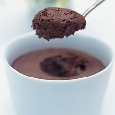 Delia Smith - a very chocolatey mousse Chocolate Mousse Recipe, Chocolate Ice Cream, Homemade Chocolate, Chocolate Desserts, Aquafaba, Delia Smith, Caramel, Delicious Deserts, Sweet Treats
