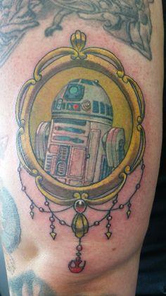 """R2D2 tattoo by Nephtali """"lefty"""" Brugueras jr  12 Monkeys tattoo #r2d2 #droid #starwars #tattoo #rebel #rebellion #nephtalibruguerasjr #12monkeystattoo"""