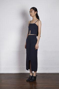 Midi Pants and matching black crop