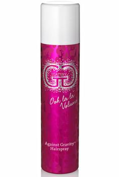 The Best Hairspray for Gymnasts. Your hair won't budge an inch with GG Gatsby's Against Gravity Hairspray. It not only dries fast and infuses hair with long-lasting, flexible hold, but it's humidity resistant and tames frizz and flyaways as well. Dance Hairstyles, Workout Hairstyles, Cute Hairstyles, All Star Cheer, Cheer Mom, Cheer Makeup, Cheerleading Makeup, Best Hairspray, Gymnastics Hair