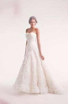 Alita Graham - Strapless A-Line Gown in Tulle