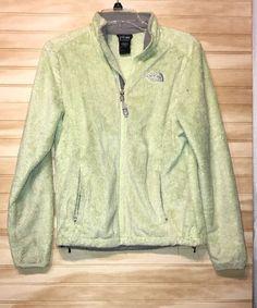 The North Face Lime Bright Green Yellow Fleece Jacket Sz S #TheNorthFace #FleeceJacket