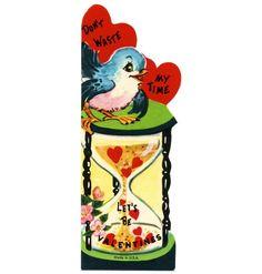 Vintage bluebird valentine.