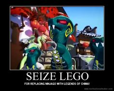 this is really funny becuase now Chima is being replaced by Nexo Knights and we're still here... and lego has announced a Season 7 and Ninjago movie. CHEERS!