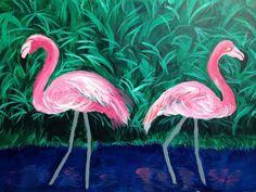Flamingos - Micheshart 2016 Catalog Catalog, Illustration, Painting, Animals, Art, Art Background, Animales, Animaux, Painting Art