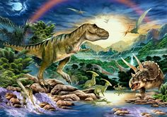 Caccia al tesoro a tema dinosauri