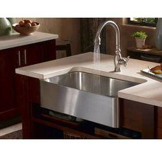 Kohler K-3086 Stainless Steel Farmhouse Sink $950