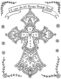 CROSSES COLORING BOOK Be the Artist, Have some FUN!!!! All Ages Love these coloring Books!  This book was inspired by many asking for a Cross