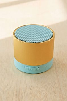 Gifts That Are Super Easy to Travel With Urban Outfitters Mini Bluetooth SpeakerUrban Outfitters Mini Bluetooth Speaker Small Wireless Speakers, Wooden Speakers, Electronic Gifts, Gadget Gifts, Small Gifts, Tech Accessories, Computers, Super Easy, Electronics Gadgets