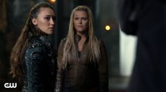 Lexa makes Clarke decide what to do with a prisoner while Octavia tries to save a village of trikru from Pike.