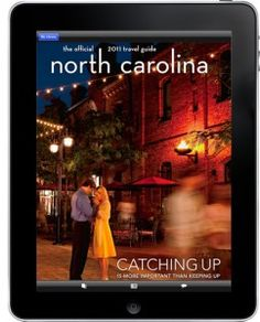 North Carolina Travel Guide on the iPad