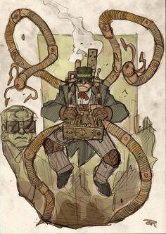 Doctor Octopus   Steampunk Spider-Man