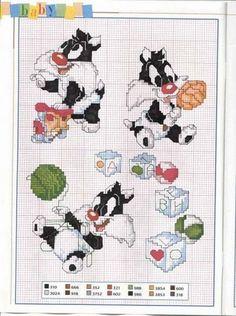 graficos infantiles punto de cruz (pág. 3)   Aprender manualidades es facilisimo.com