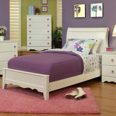Shop for Sandberg Furniture Dulce Bed. Get free shipping at Overstock.com - Your…
