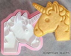 This 3D printed cookie cutter features the unicorn emoji, but instead of typing it you can now bake it! This item has been tested and proven to make adorable, delicious cookies time and time again. Imagine making your own unicorn cookies! This is a great item for anyone who