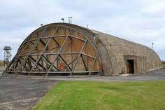 Hardened aircraft shelter (HAS. ) RAF Upper Heyford
