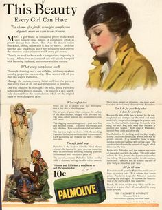 Palmolive Company's Palmolive Soap – This Beauty Every Girl Can Have (1922)
