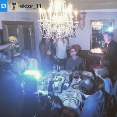"""""""Via Instagram by @ektor_11 Fools Banquet ending with @cottonjennings BDay! #Hanson"""""""