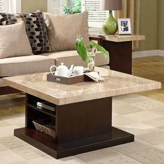 Sunny Designs Espresso Coffee Table Set & Pin by Lori Vento on decorating | Pinterest | Square coffee tables ...