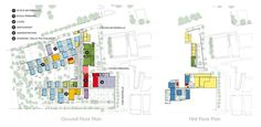 Lycee Charles de Gaulle Floor plans
