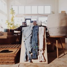 vintage overalls - a General Store staple.