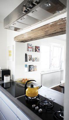 Love the Storage up above. Kitchen Design Ideas By Anni Palanni