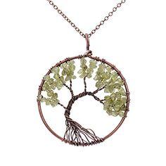 Handmade Tree Of Life Peridot Pendant Wire Wrapped Rustic... https://smile.amazon.com/dp/B01E18NFNA/ref=cm_sw_r_pi_dp_x_W4hoybWR2FAH3